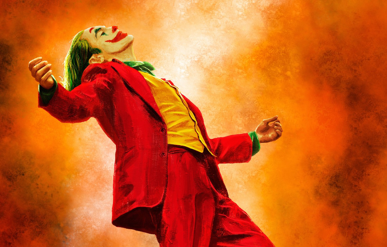 Wallpaper Figure Paint Joker Costume Art Joaquin