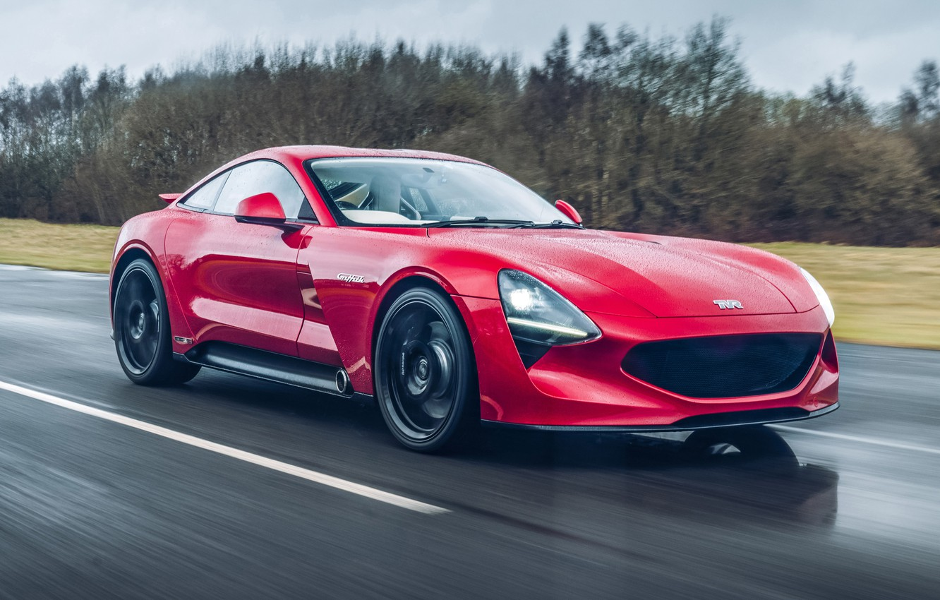 Photo wallpaper supercar, 2018, TVR, Griffith