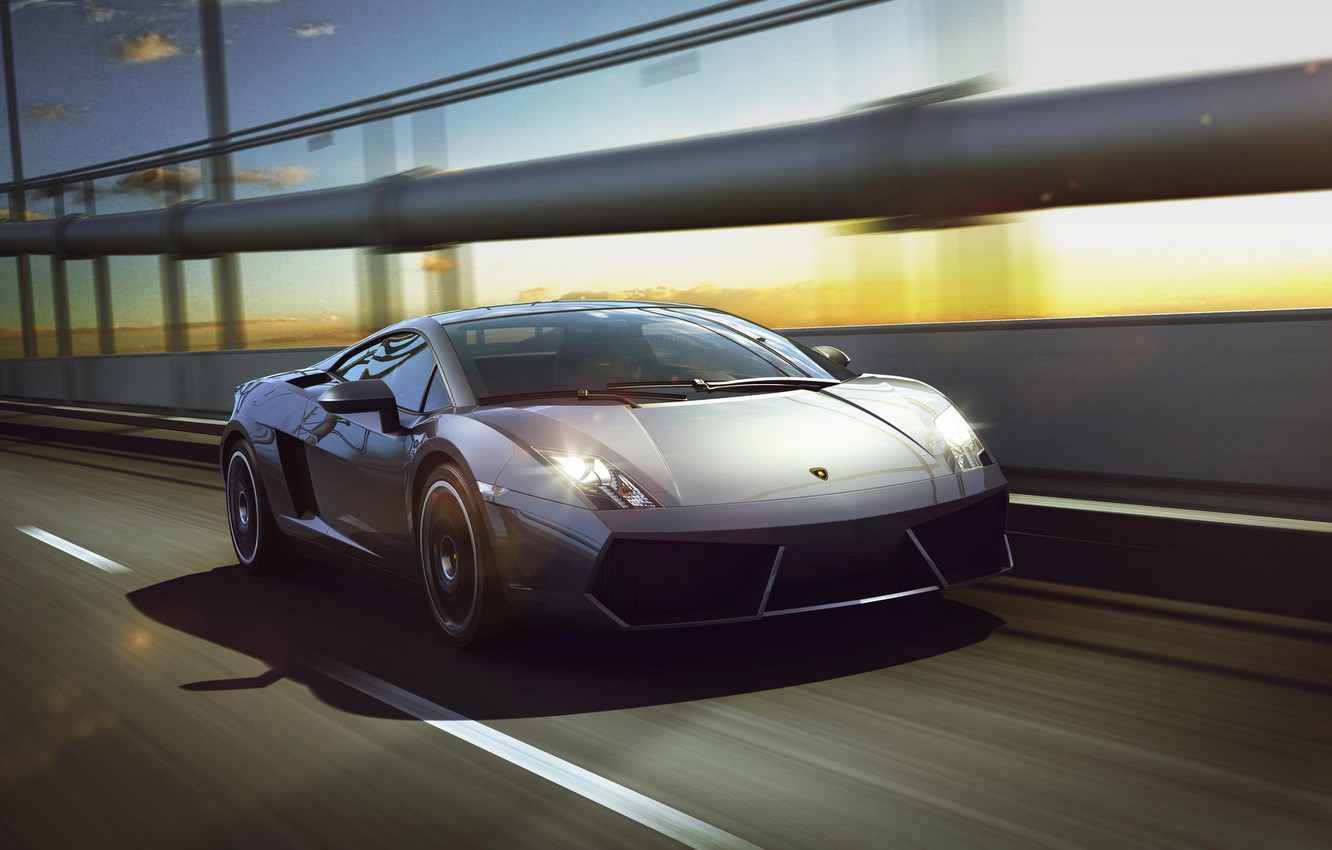 Photo wallpaper Auto, Lamborghini, Machine, Gallardo, Car, Lamborghini Gallardo, Sports car, Sportcar, Transport & Vehicles, by Xianhua …