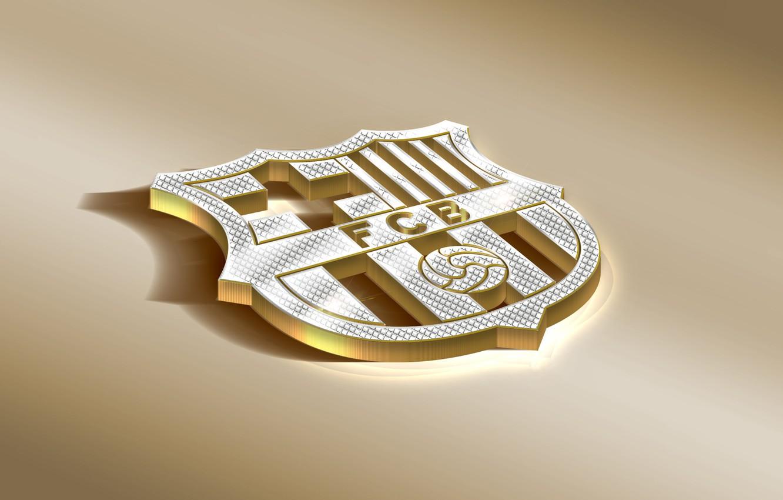 Wallpaper Logo Golden Football Soccer Fc Barcelona Barca Emblem Spanish Club Images For Desktop Section Sport Download