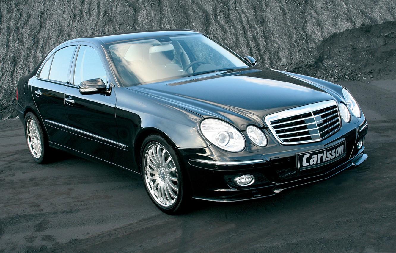 Photo wallpaper Mercedes-Benz, sedan, E-Class, Carlsson, W211, the third generation car E-class