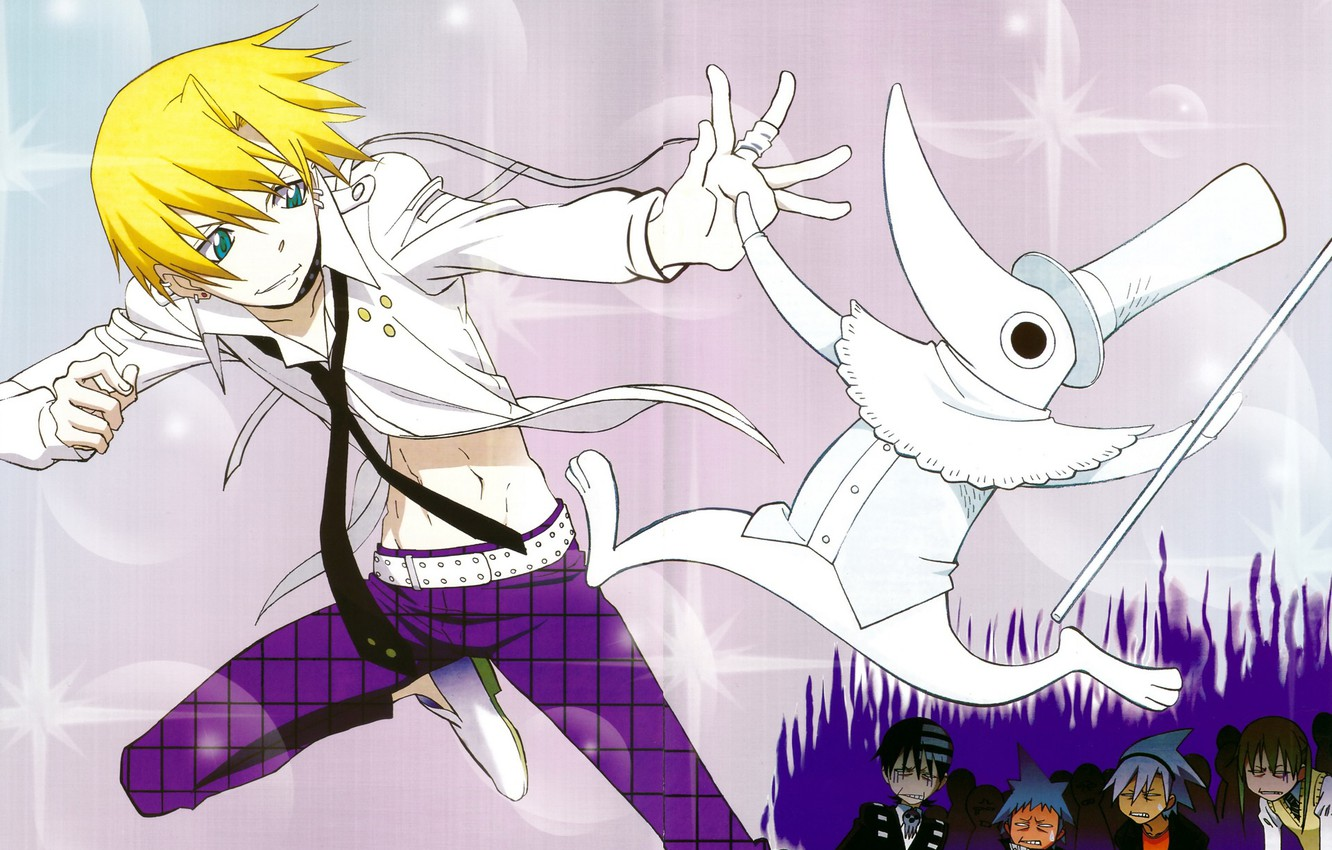 Photo wallpaper guy, Soul eater, characters, Soul Eater