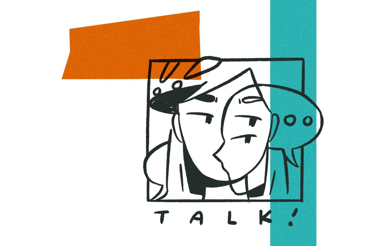 Photo wallpaper Music, Cover, Monstercat, Talk!, DUMMU