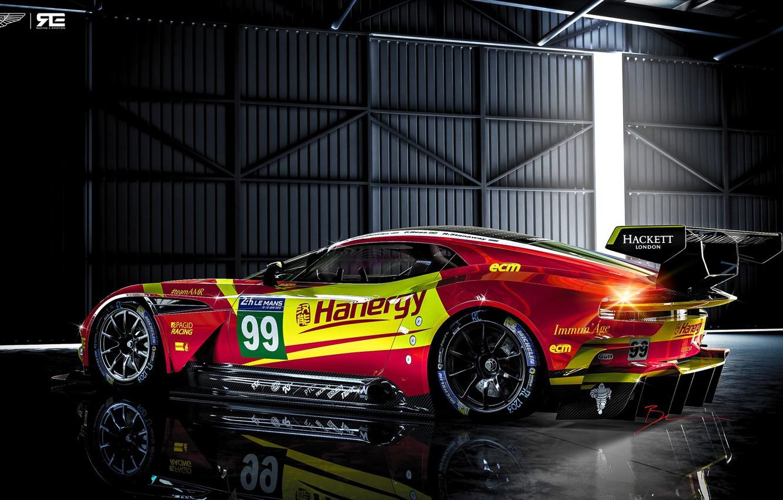 Photo wallpaper Aston Martin, Auto, The Mans, Rendering, GTE, Sports car, Vulcan, Aston Martin Vulcan, Benoit Fraylon, …