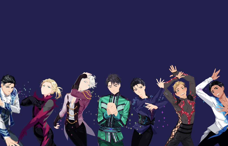 Wallpaper Background Anime Guys Yuri On The Ice Yuri On