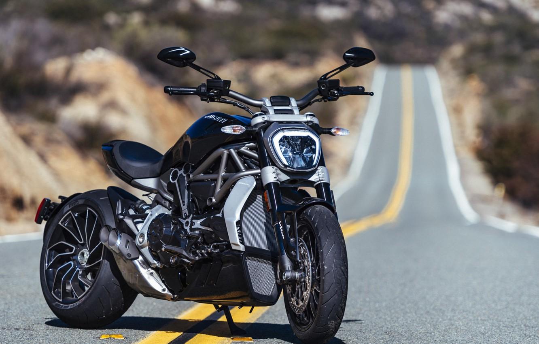 Photo wallpaper Ducati, Bike, Road, Superbike