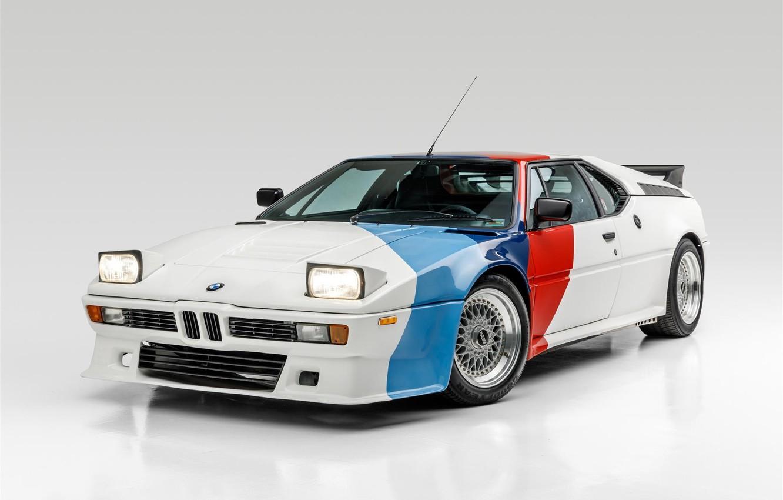 Photo wallpaper BMW, E26, M1
