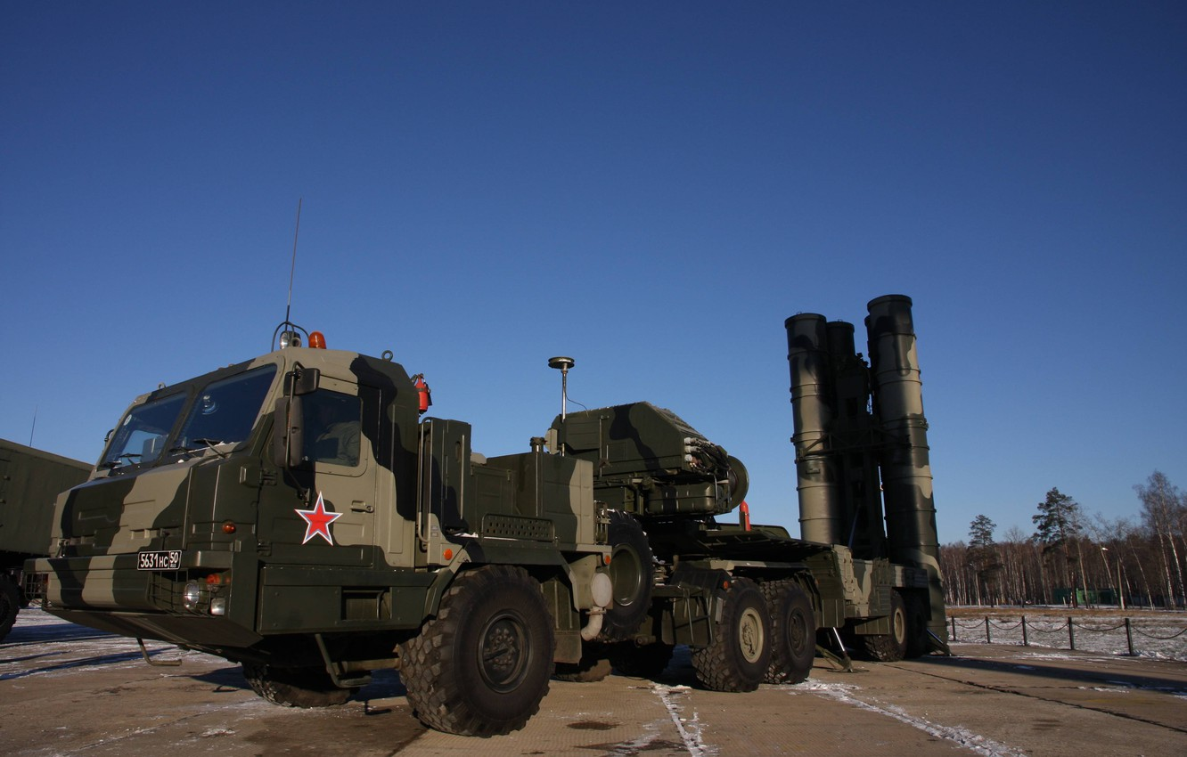 Photo wallpaper weapon, winter, russian, missile, S-400 Triumph, S-400, anti-aircraft