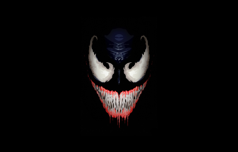 Photo wallpaper Smile, Face, Teeth, Fangs, Art, Comics, Illustration, MARVEL, Venom, Characters, Comic Art, Ben Laverock, by …