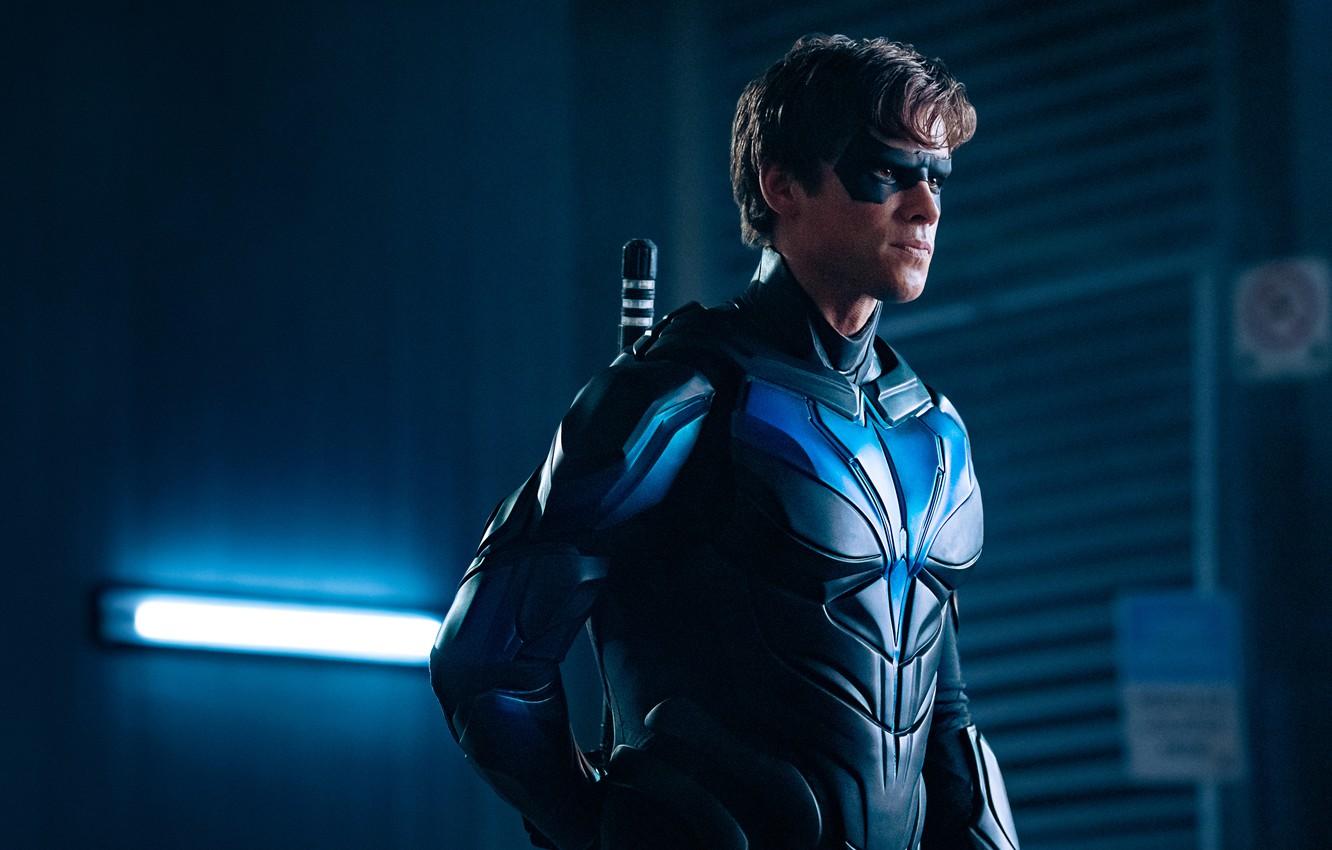 Photo wallpaper Dick Grayson, Nightwing, Dick Grayson, Nightwing, The titans, Titans (TV series)