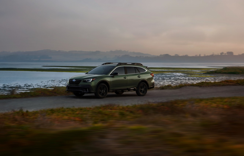 Photo wallpaper coast, Subaru, universal, Outback, AWD, 2020