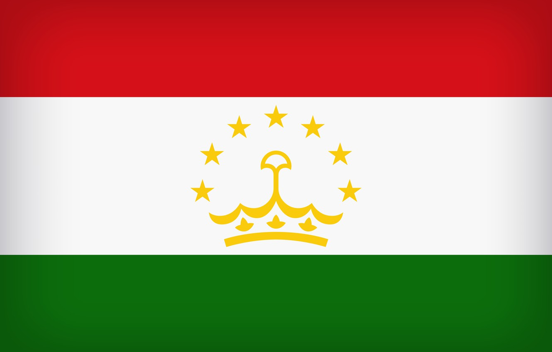 Photo wallpaper Flag, Tajikistan, Tajik, Tajikistan Large Flag, Flag Of Tajikistan