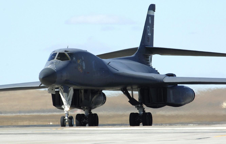 Photo wallpaper bomber, the plane, B-1B