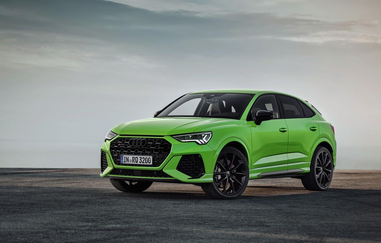 Photo wallpaper Audi, crossover, Sportback, 2020, RS Q3