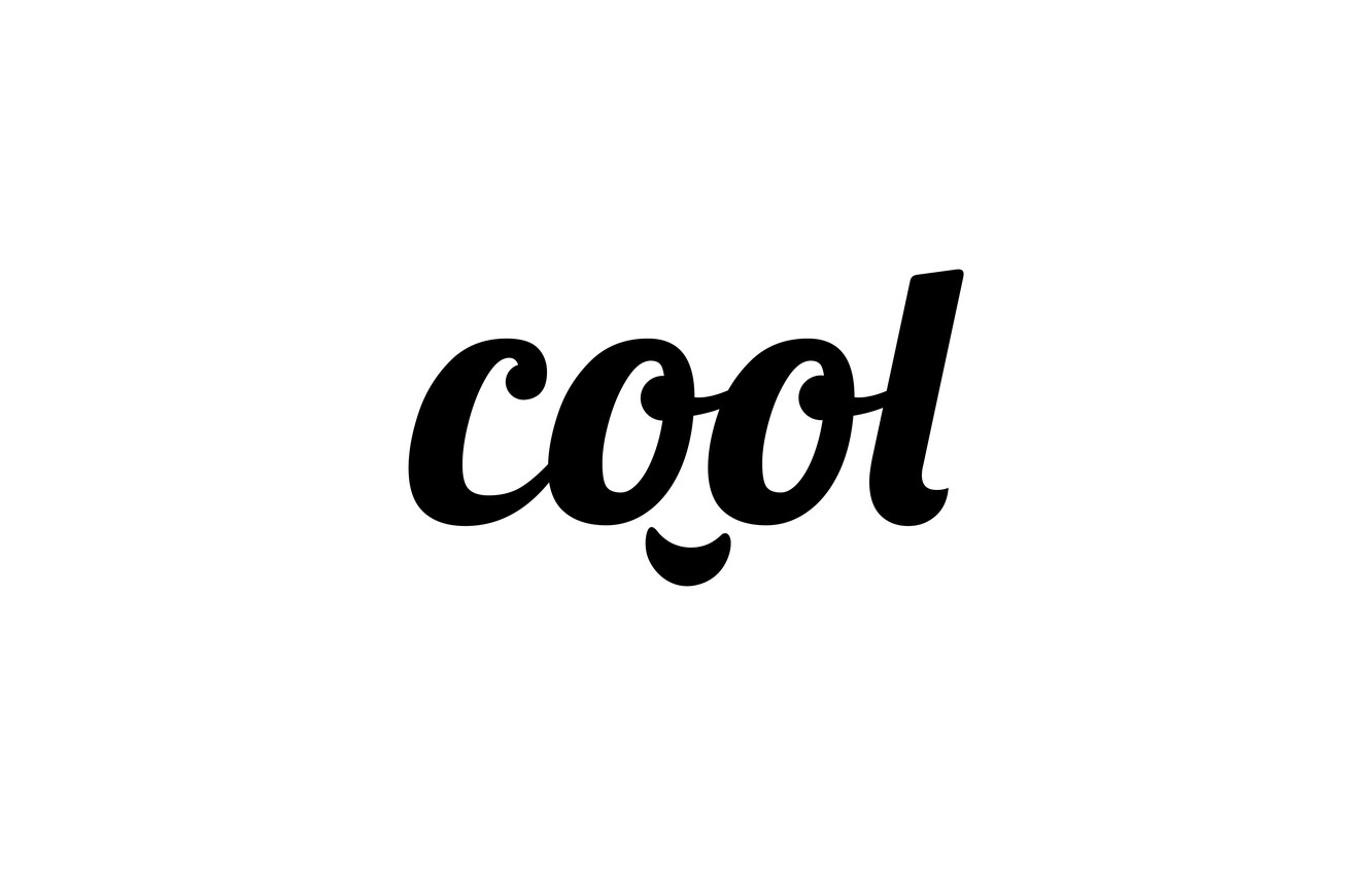 Photo wallpaper letters, cool, the word, cool