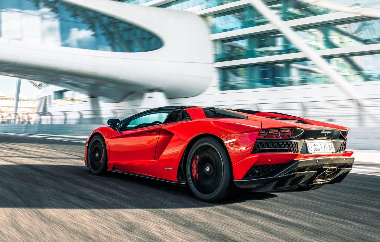 Wallpaper Roadster Speed Lamborghini Supercar Aventador