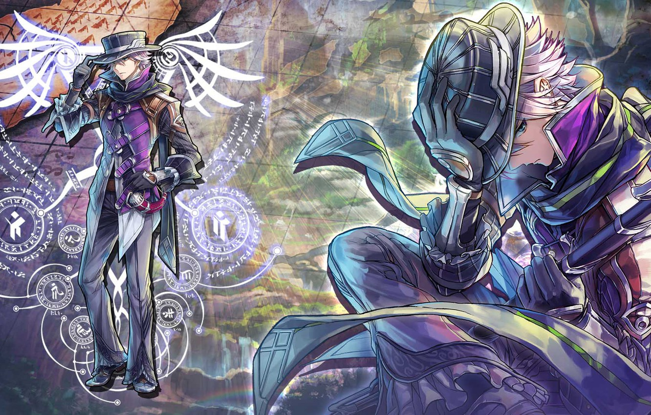 Wallpaper The Game Hat Anime Guy Ys Viii Lacrimosa Of Dana