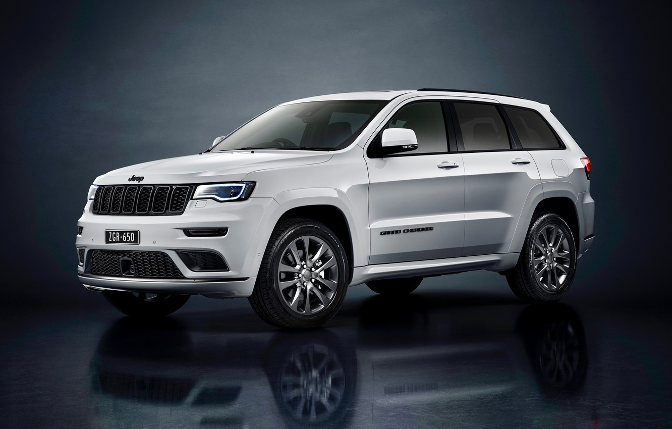 Photo wallpaper Jeep, Grand Cherokee, Overland, 2019, Grand Cherokee S