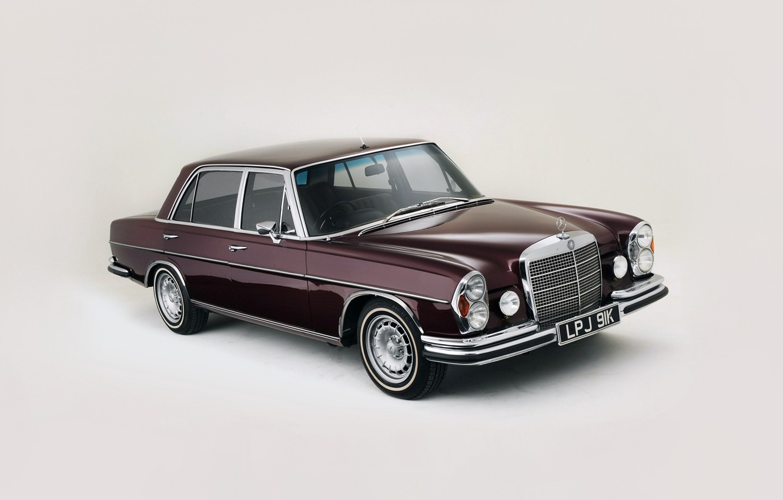 Photo wallpaper luxury, classic car, mercedes 300 sel