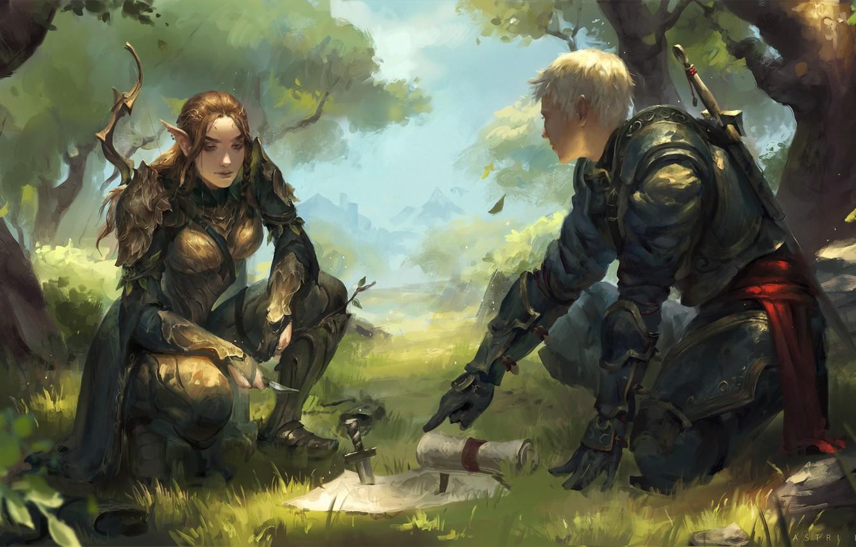 Fantasy Archer Art