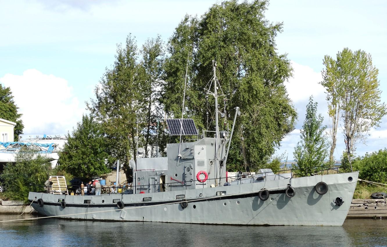 Photo wallpaper boat, special, Baltika, author havron