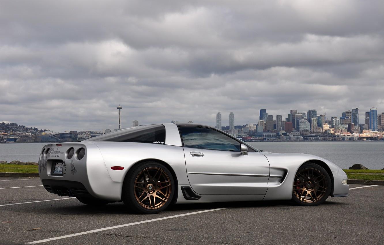 Photo wallpaper Corvette, Chevrolet, Coupe, Vehicle