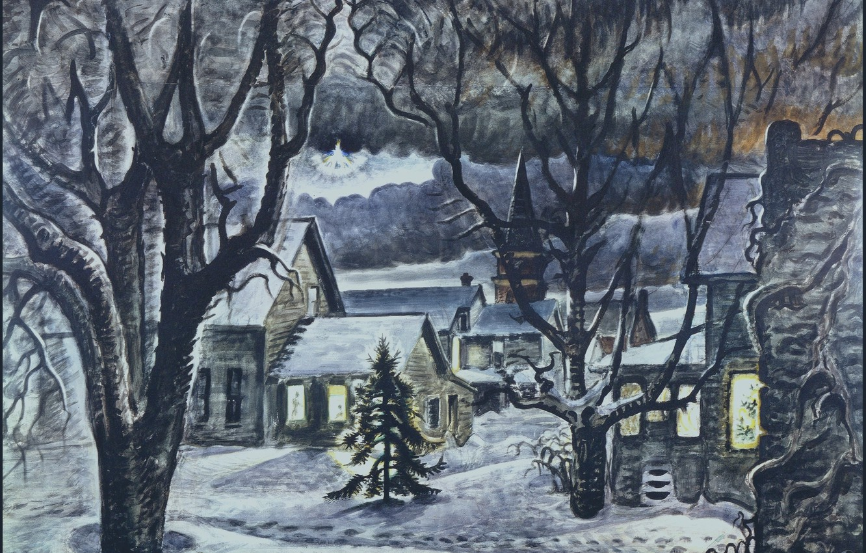 Photo wallpaper Charles Ephraim Burchfield, The Star, 1941–48