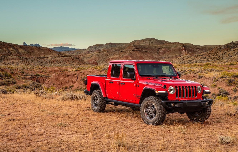 Wallpaper Gladiator, Jeep, 2019, Jeep Gladiator Rubicon ...