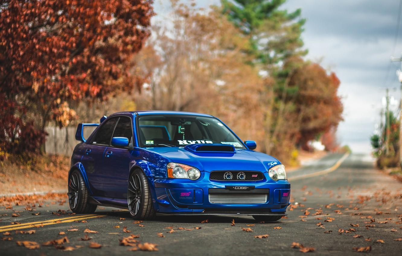 Photo wallpaper Subaru, Impreza, STI, Subaru Impreza STI