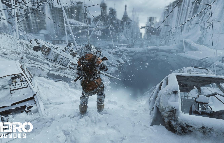 Photo wallpaper game, 4A Games, Metro: Exodus, Metro Exodus