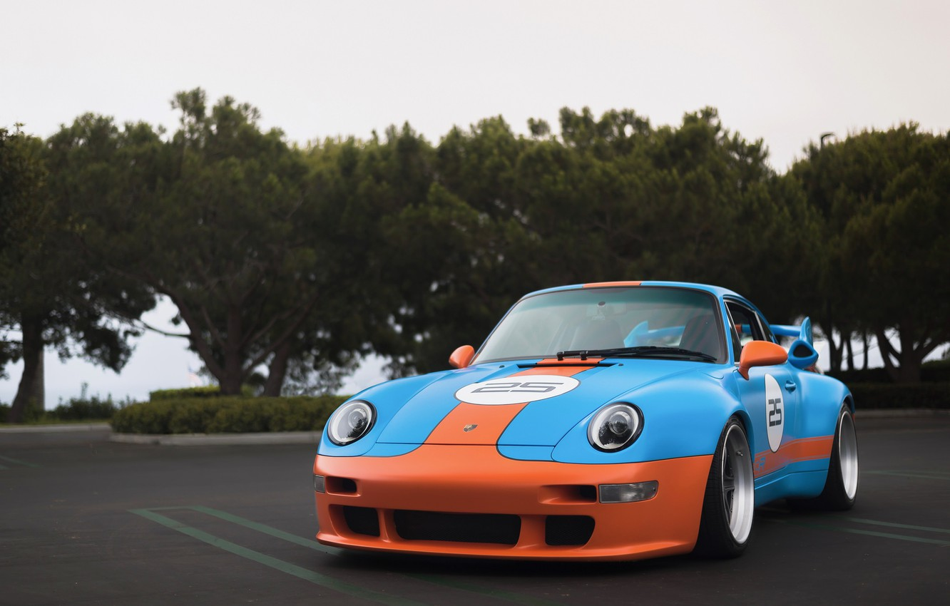 Photo wallpaper 911, Porsche, GT2, 993