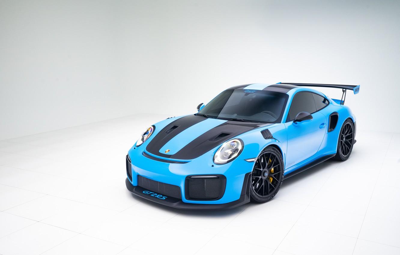 Photo wallpaper Porsche, Blue, 991, VAG, GT2RS