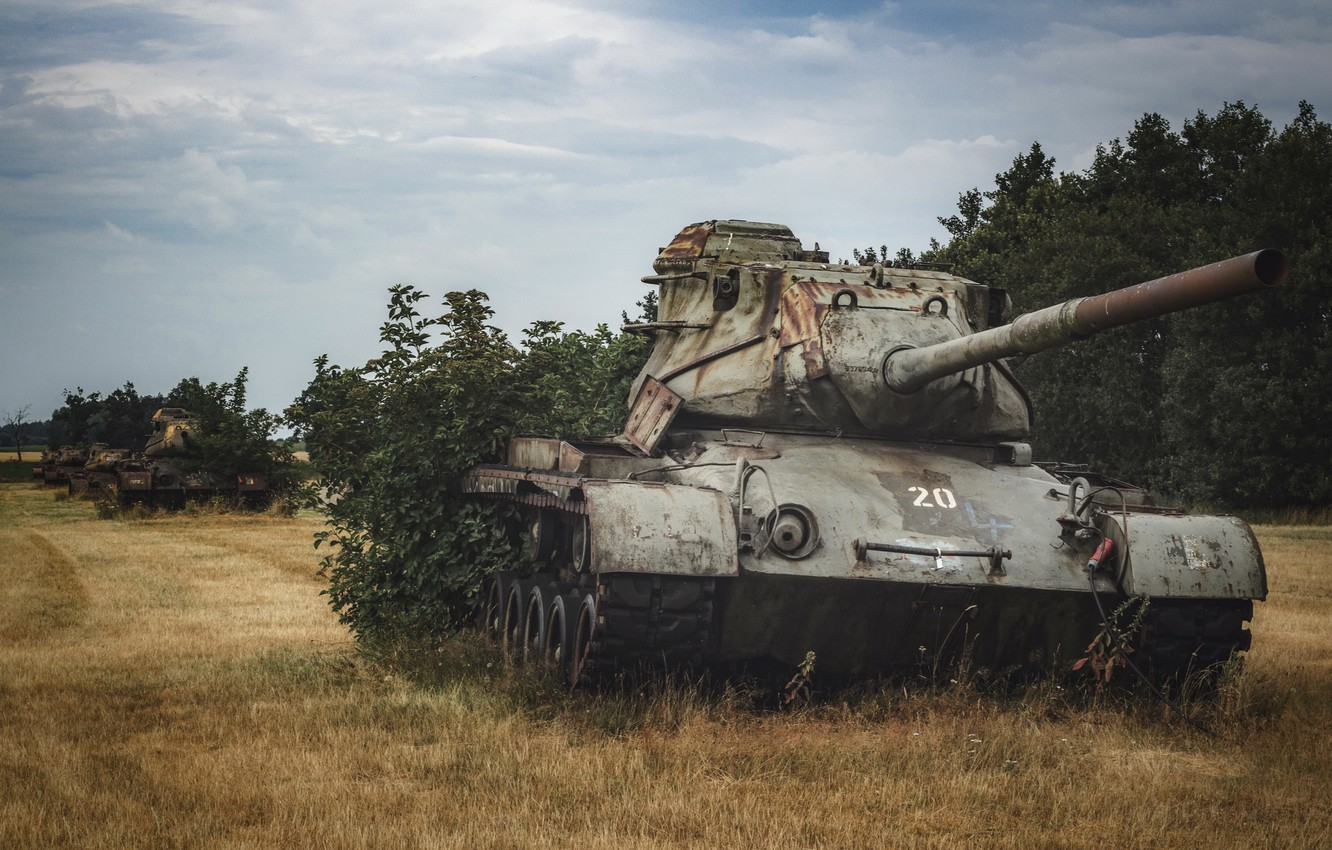 Photo wallpaper weapons, army, tanks