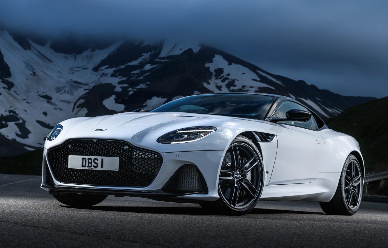 Photo wallpaper Aston Martin, DBS, Superleggera, 2018