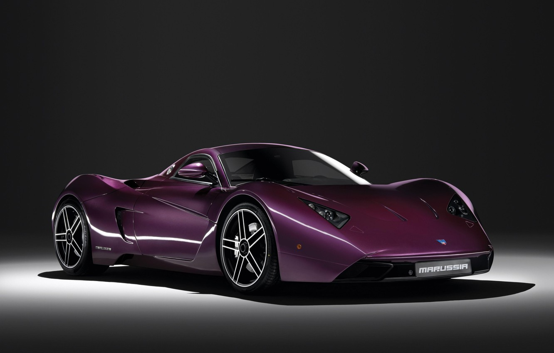 Photo wallpaper Purple, Supercar, Marussia B1
