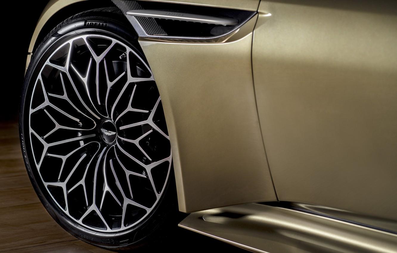 Photo wallpaper Aston Martin, DBS, wheel, Superleggera, 2019, OHMSS