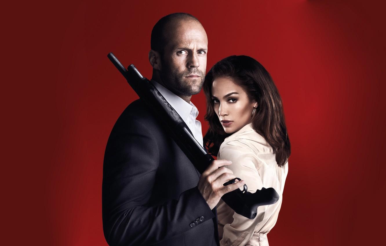 Wallpaper Pose Weapons Jennifer Lopez Parker Jason