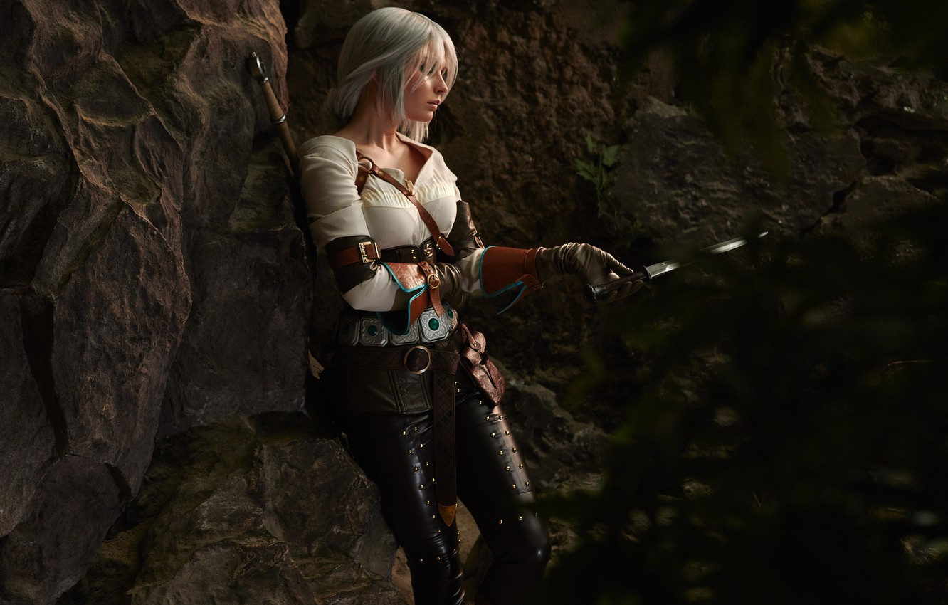 Photo wallpaper cosplay, cosplay, Character, The Witcher 3: Wild Hunt, The Witcher 3: Wild Hunt, CRIS, Cirilla, …