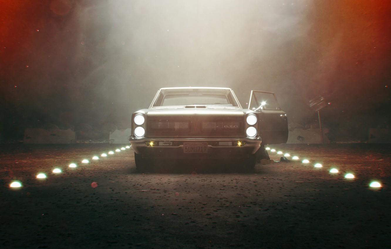 Photo wallpaper Auto, Machine, 1965, Pontiac, GTO, Pontiac GTO, Stranger Things, Transport & Vehicles, by Giacomo Geroldi, …
