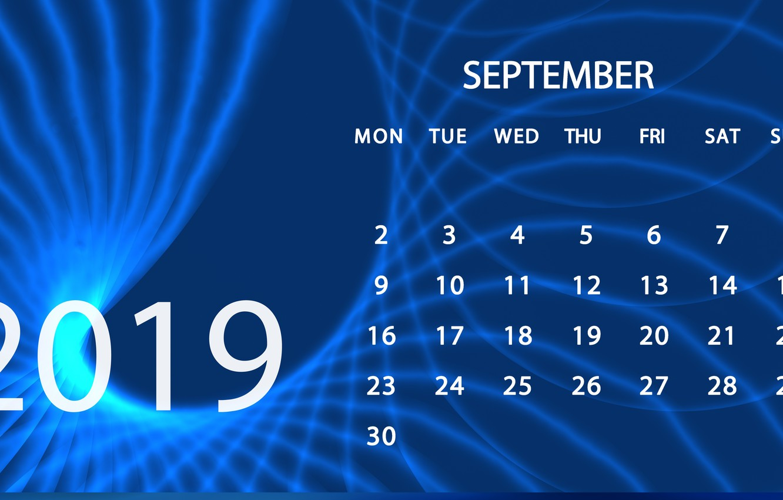 Wallpaper Calendar September 2019 Images For Desktop