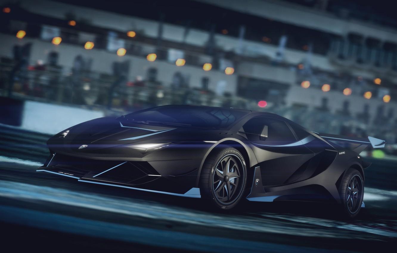 Photo wallpaper Auto, Lamborghini, Machine, Car, Render, Supercar, Night, Aventador, Lamborghini Aventador, Rendering, Supercar, Concept Art, Sportcar, …