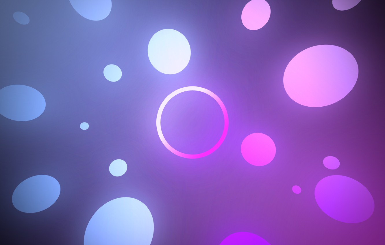 Photo wallpaper white, purple, abstraction, blue, round, gradient, ring