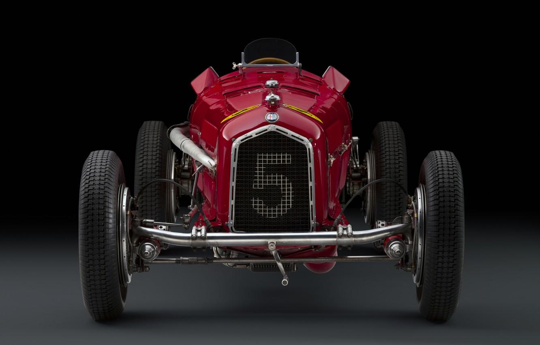 Photo wallpaper Alfa Romeo, Classic, Scuderia Ferrari, 1932, Grand Prix, Classic car, Sports car, Grille, Alfa Romeo …