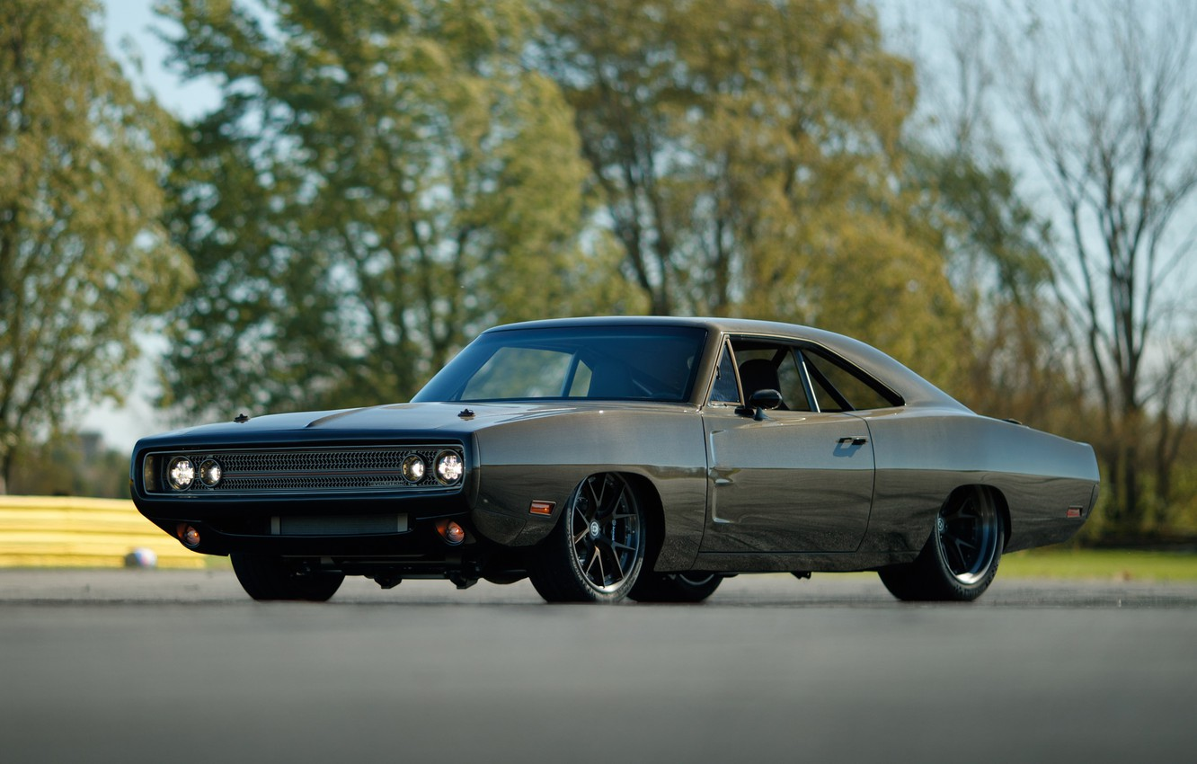 Photo wallpaper Tuning, Evolution, 1970, Dodge Charger, Speedkore