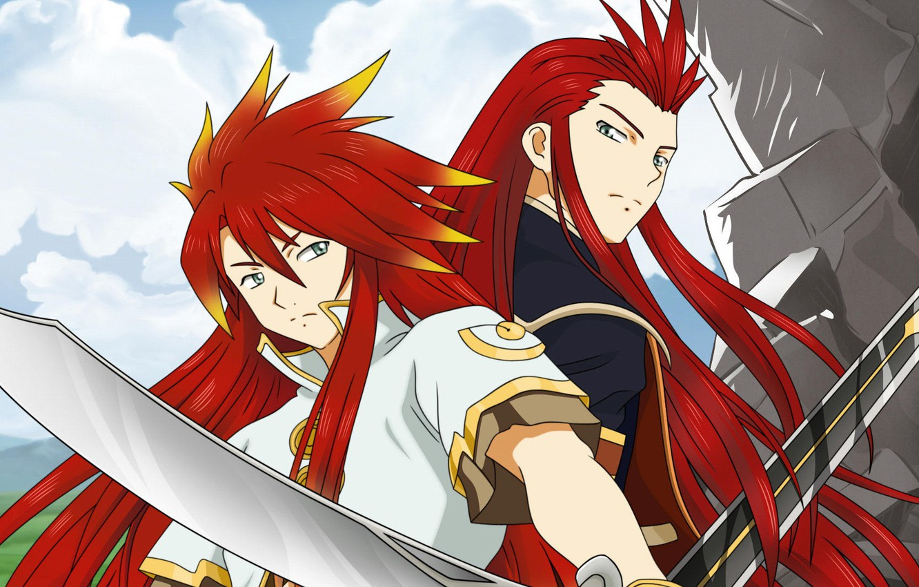 Wallpaper Background Anime Art Guys Tales Of The Abyss Images