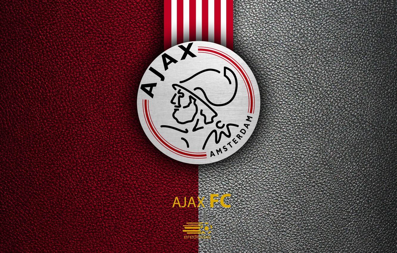 Photo wallpaper wallpaper, sport, logo, football, Ajax, Eredivisie