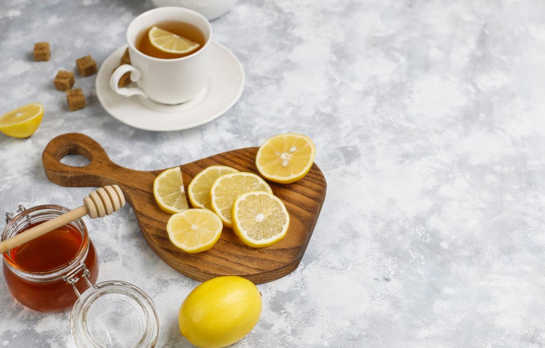 Wallpaper Lemon Tea Cup Citrus Honey Images For Desktop