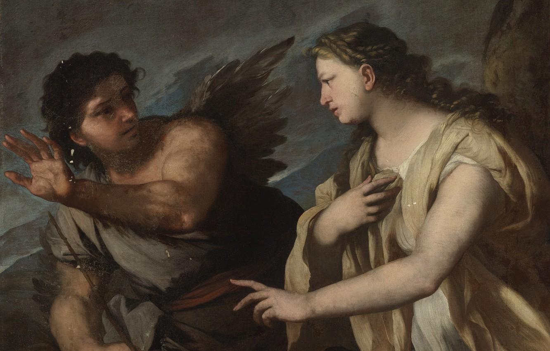 Photo wallpaper Luca Giordano, Italian painter, Italian painter, oil on canvas, Rush and Kirk, Luca FA-Presto, Luke …