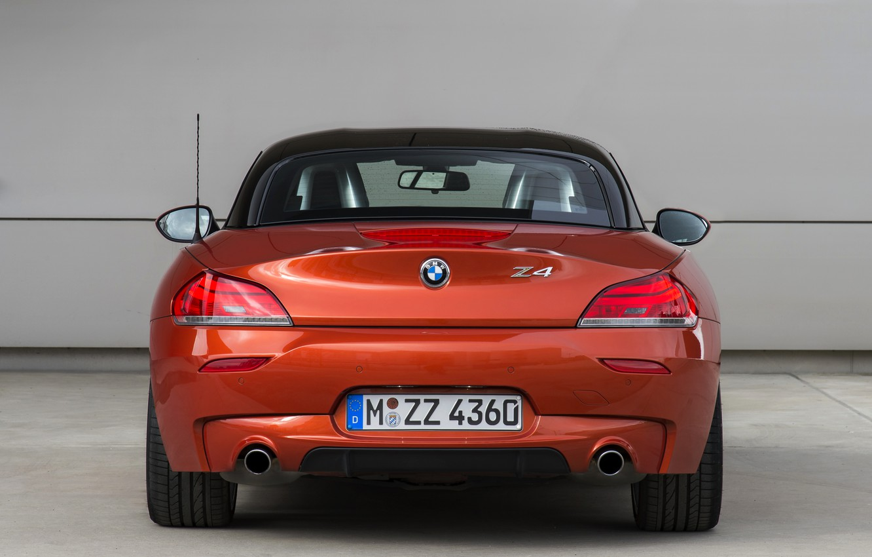Photo wallpaper BMW, Roadster, rear view, 2013, E89, BMW Z4, Z4, sDrive35is