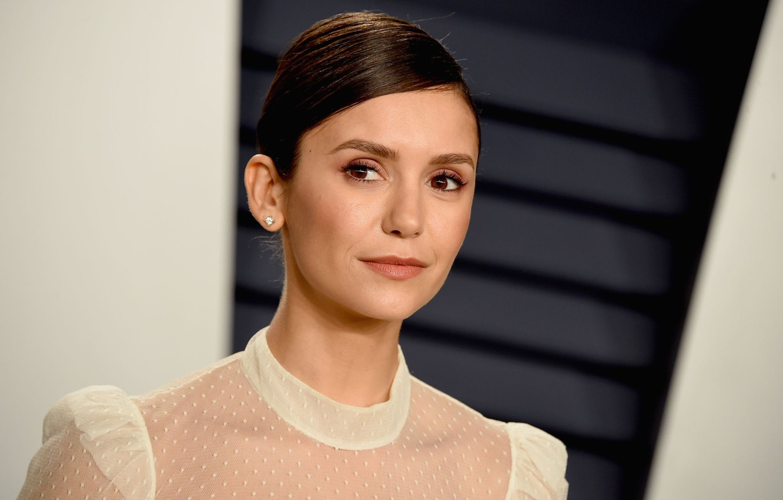 Photo wallpaper look, actress, Nina Dobrev